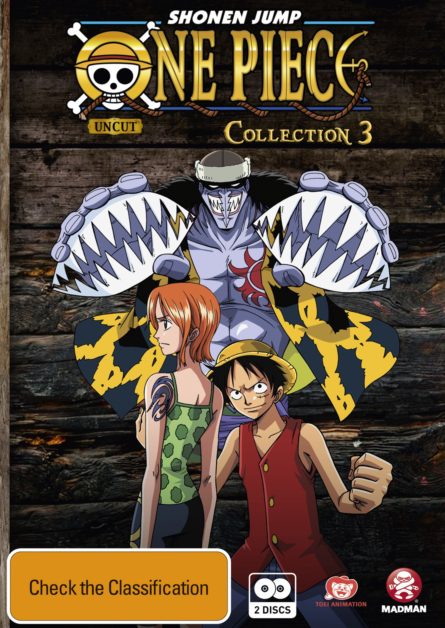 One Piece (Uncut) Collection 3 (Eps 27-39)