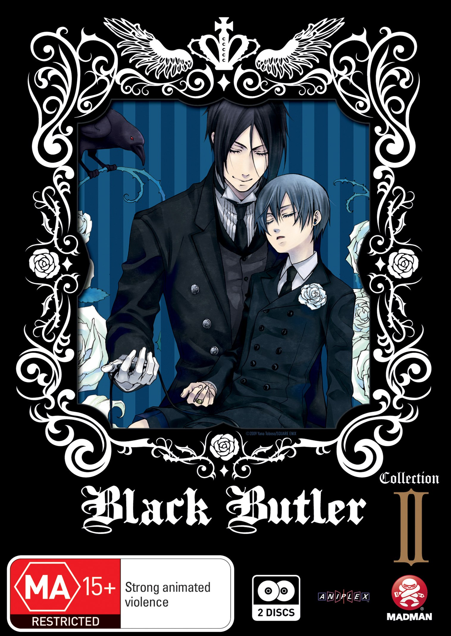 Black Butler (Kuroshitsuji) Collection 2 (Eps 13-24)
