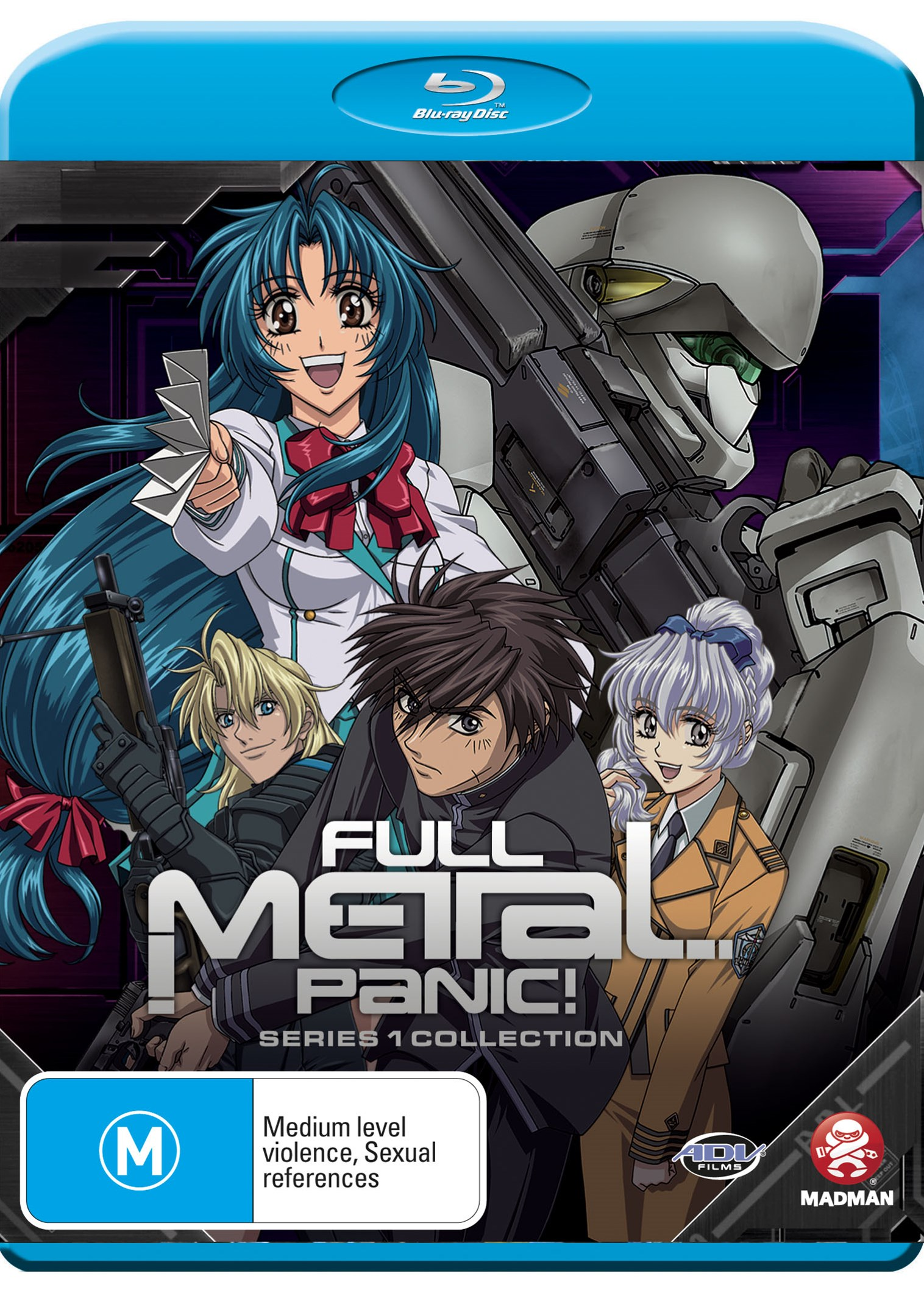 Full Metal Panic! Series 1 Collection (Blu-Ray)