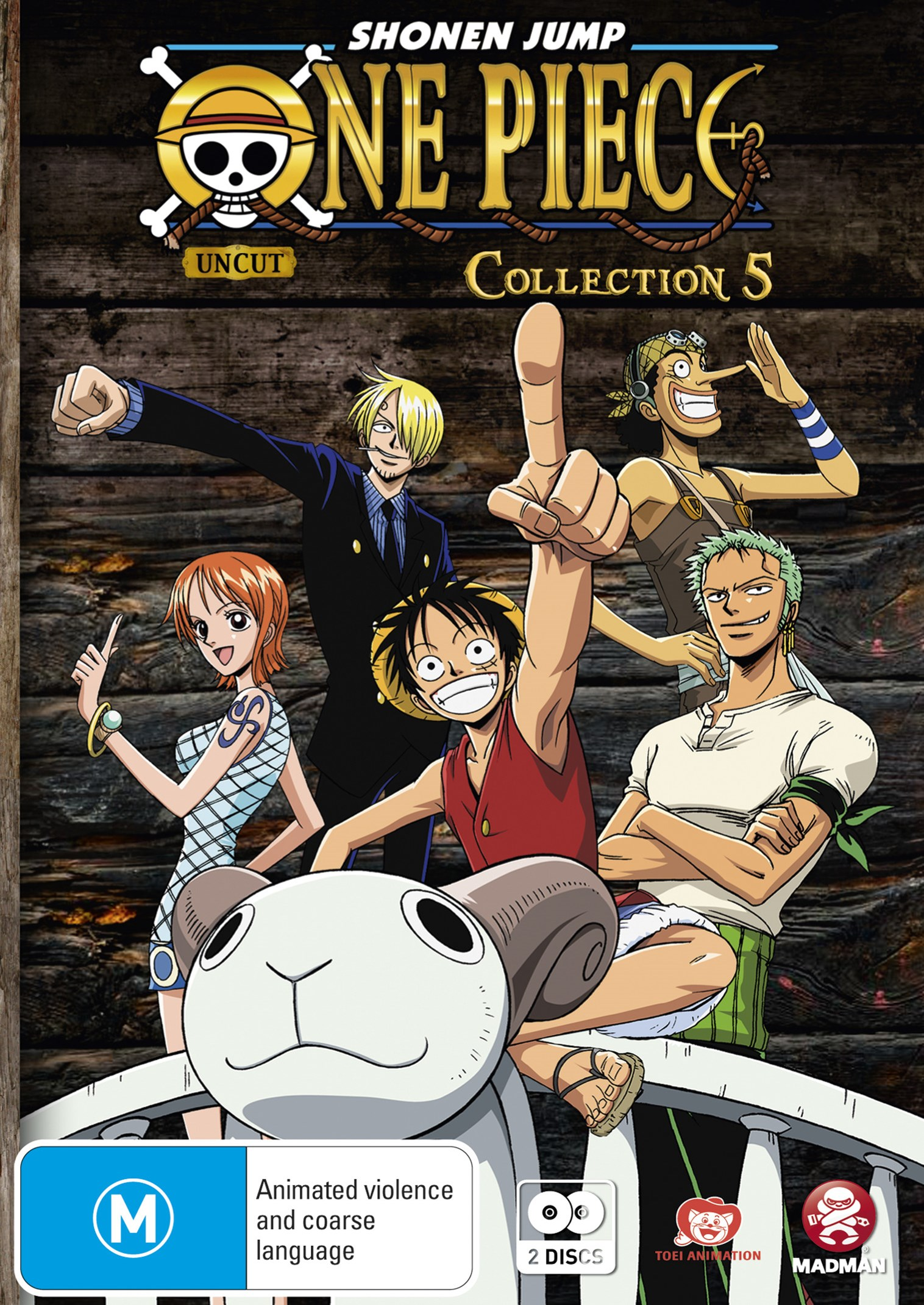 One Piece (Uncut) Collection 5 (Eps 54-66)