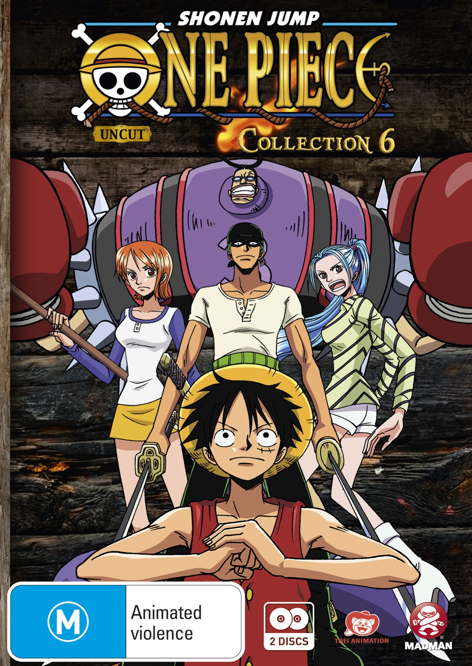 One Piece (Uncut) Collection 6 (Eps 67-78)