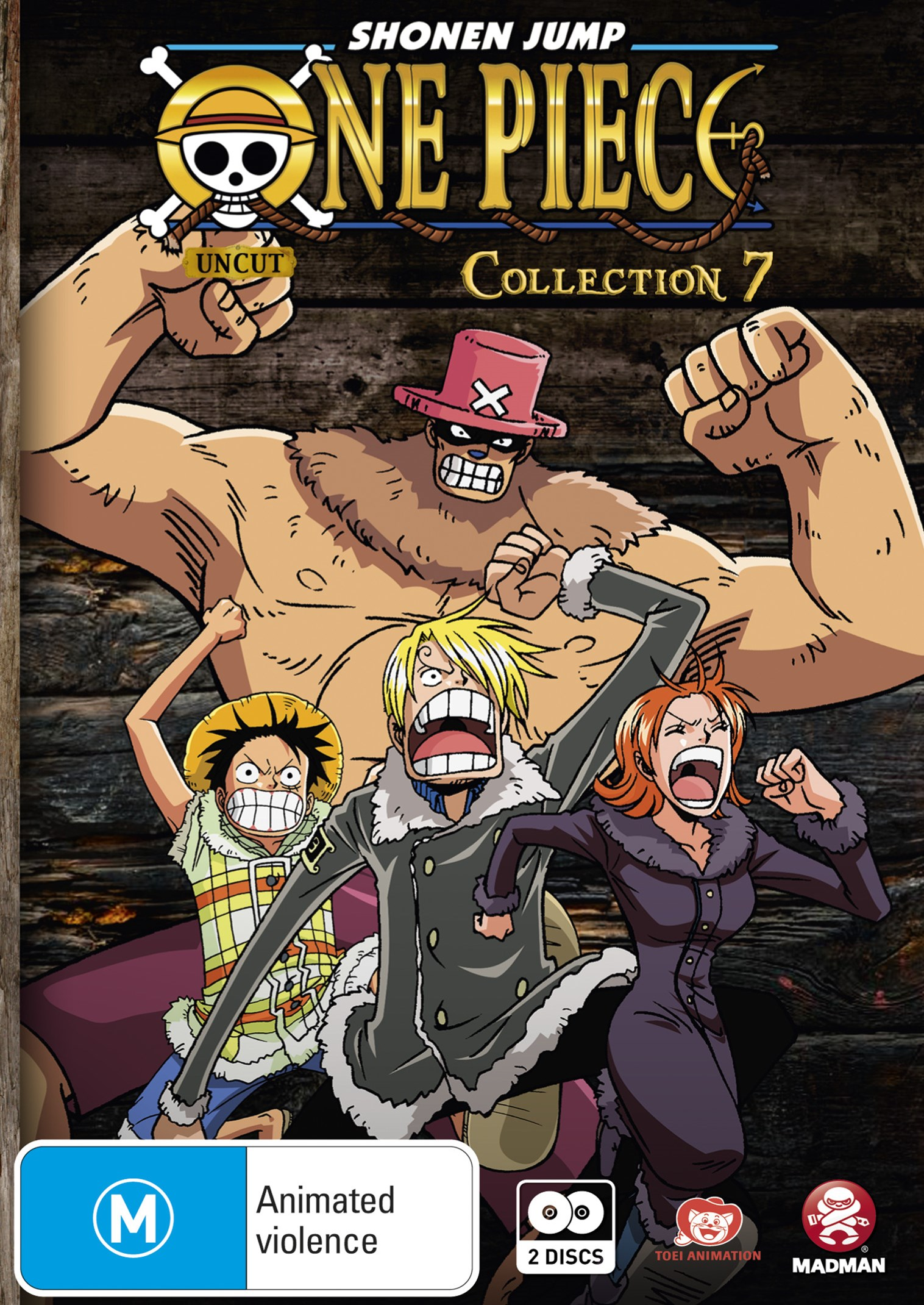 One Piece (Uncut) Collection 7 (EPS 79-91)