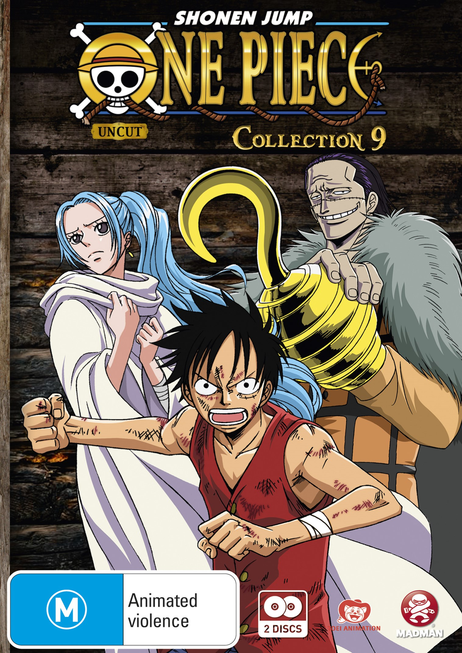 One Piece (Uncut) Collection 09 (Eps 104-116)