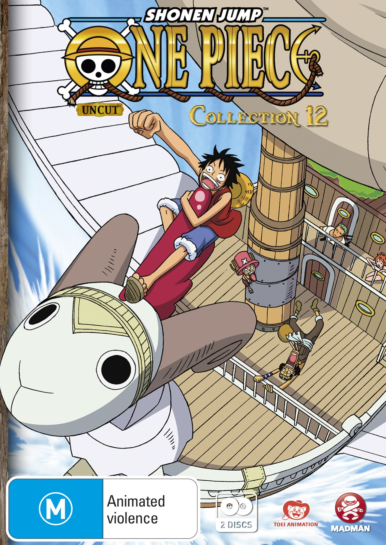 One Piece (Uncut) Collection 12 (Eps 144-156)