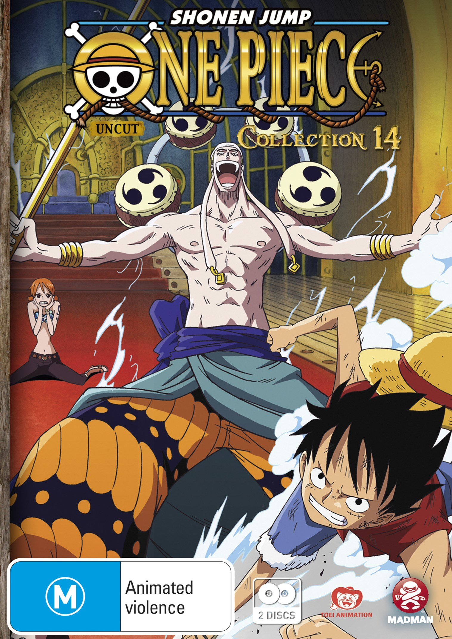 One Piece (Uncut) Collection 14 (Eps 170-182)