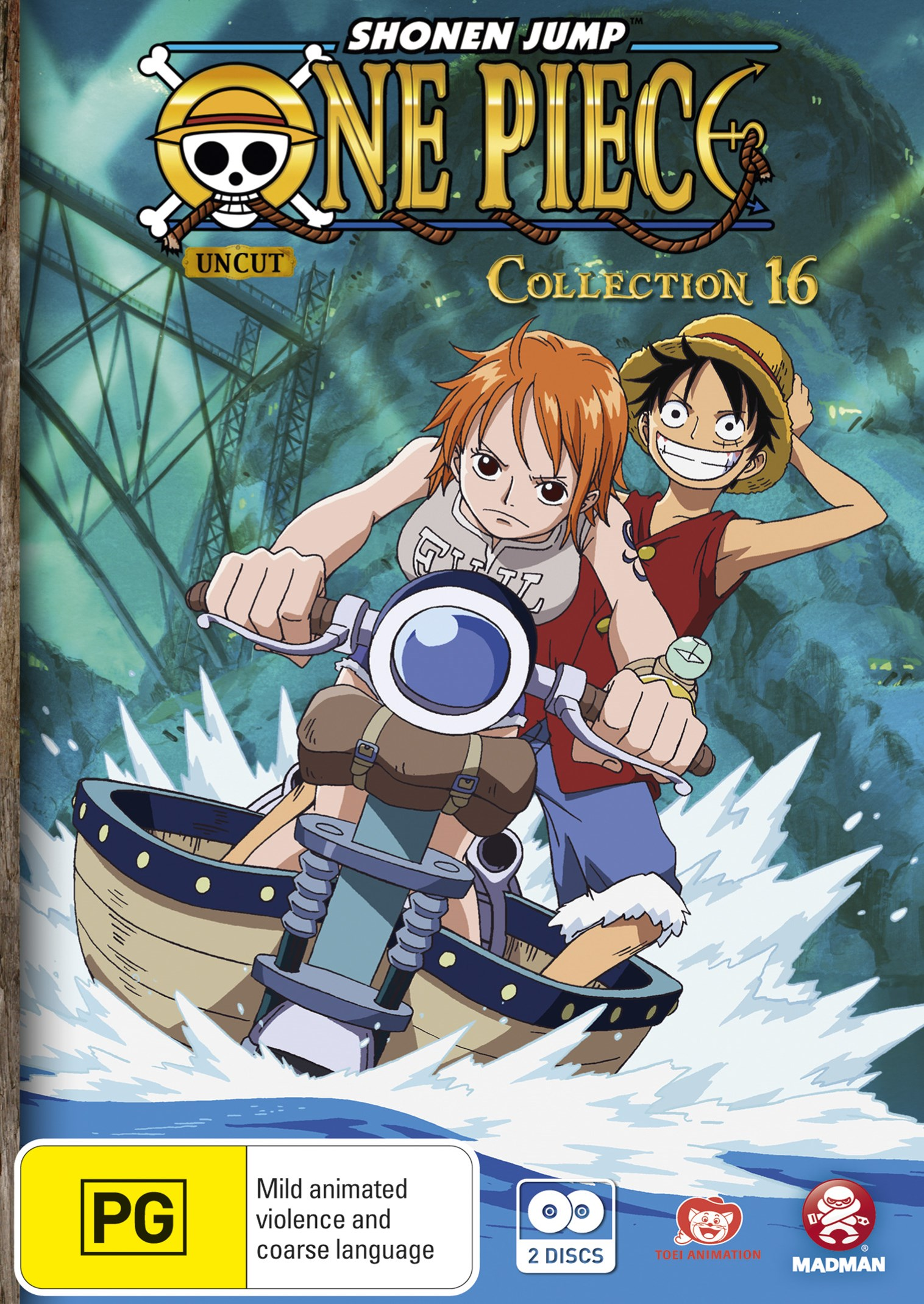 One Piece (Uncut) Collection 16 (Eps 196-205)