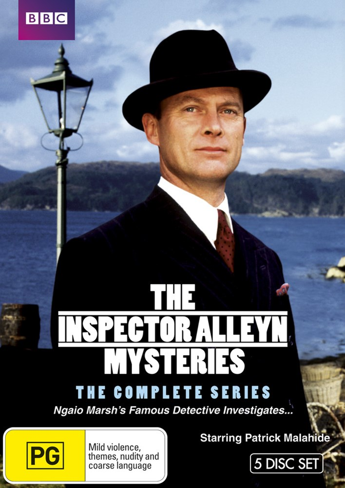 The Inspector Alleyn Mysteries - The Complete Series (5 DVD Set)
