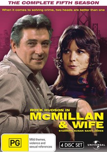Mcmillan and Wife - The Complete Fifth Season (4 DVD Set) - Film & TV Thriller