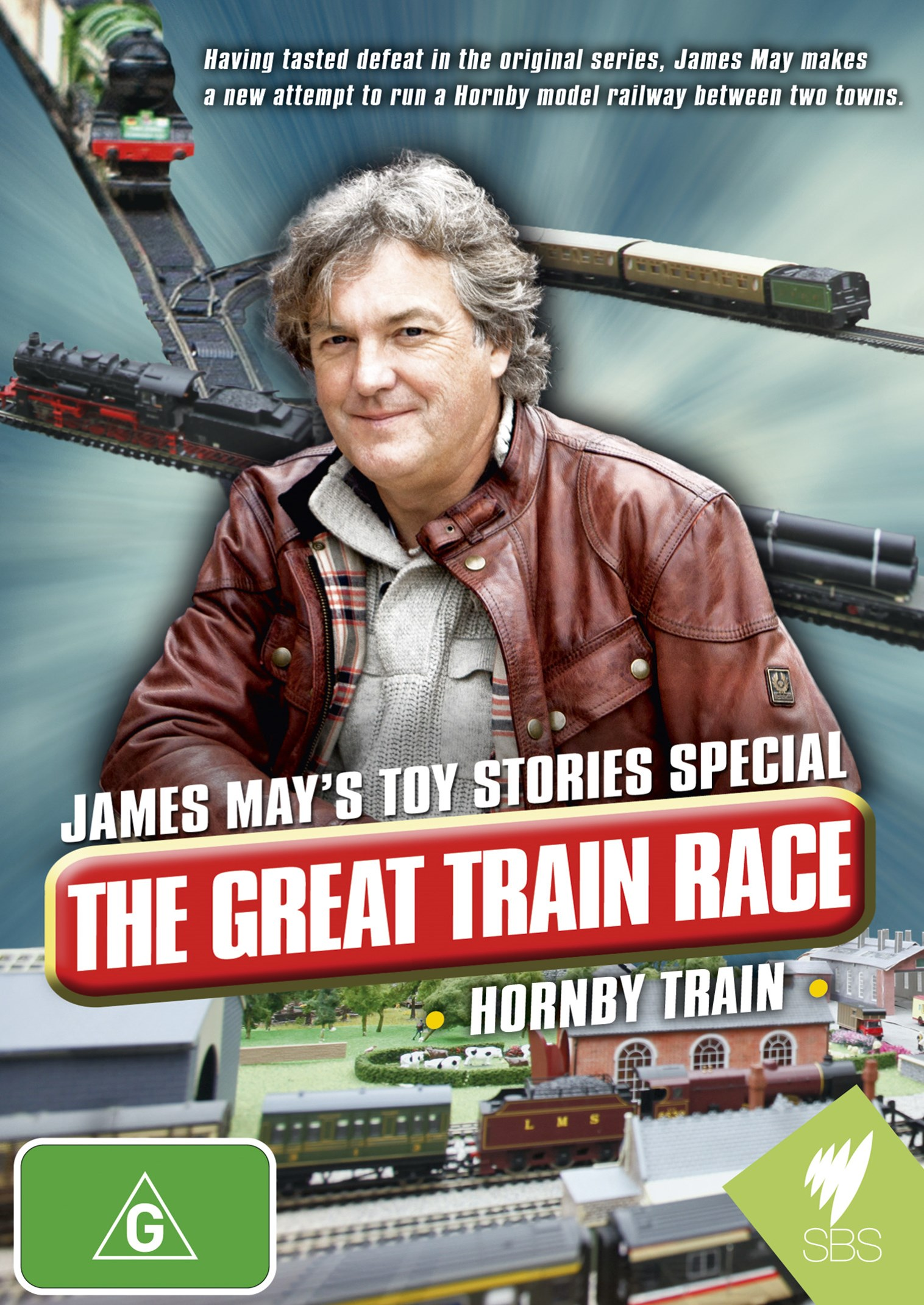 James May's Toy Stories Special: The Great Train Race - Hornby Train