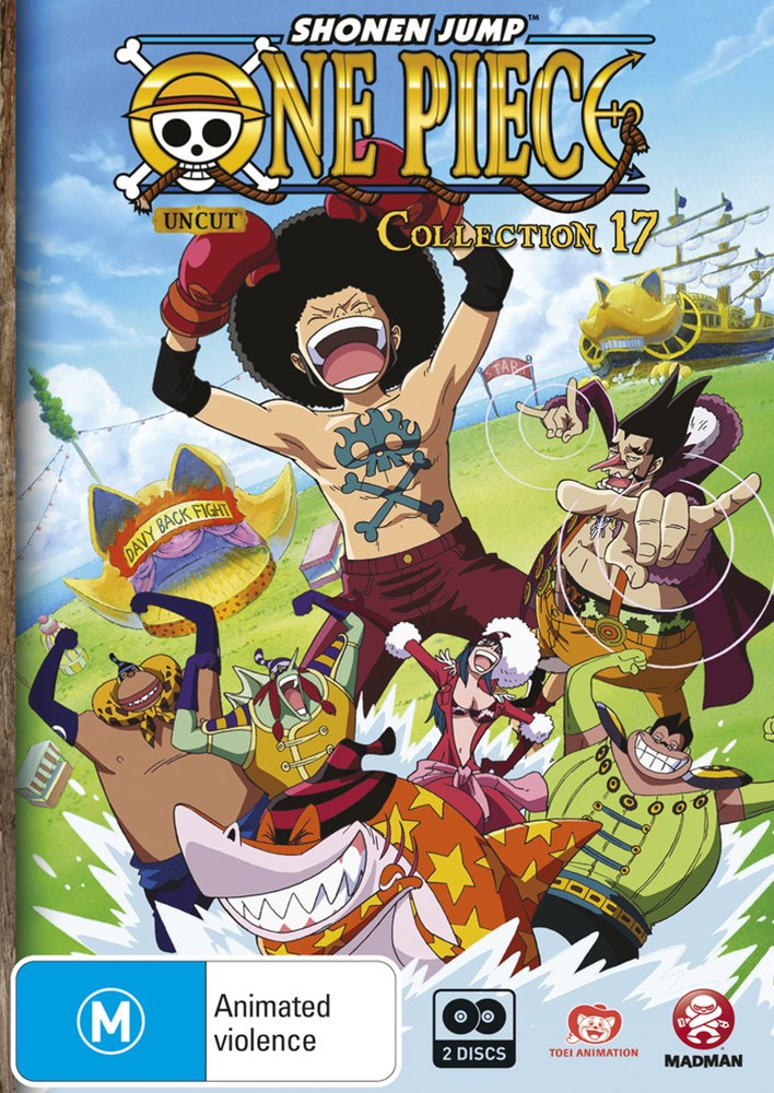 One Piece (Uncut) Collection 17 (S4 Eps 206-217)