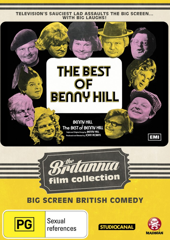 The Best of Benny Hill: The Britannia Film Collection