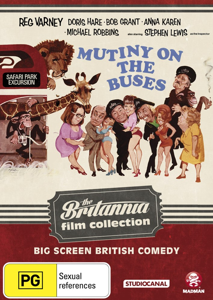 Mutiny on the Buses: The Britannia Film Collection