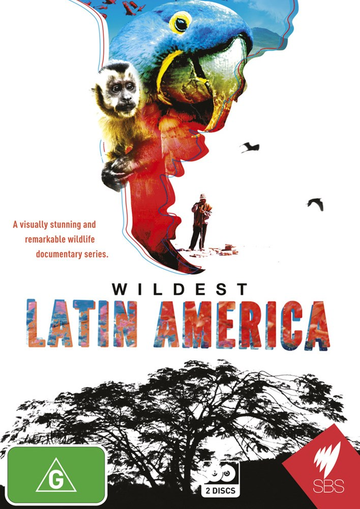 Wildest Latin America (2 Discs)