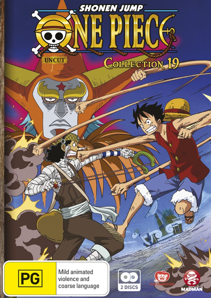 One Piece (Uncut) Collection 19 (S4 Eps 230-241)