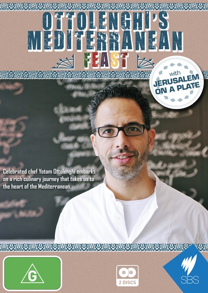 Ottolenghi's Mediterranean Feast with Jerusalem on a Plate
