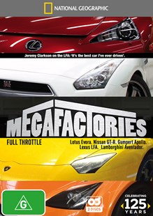 National Geographic: Megafactories - Full Throttle - Film & TV Special Interest