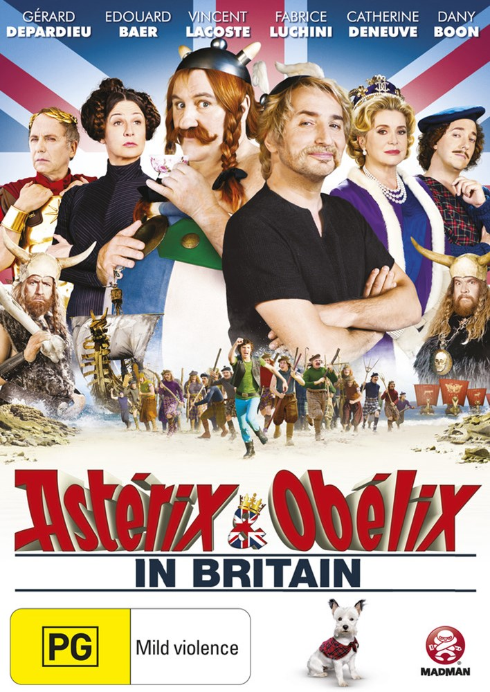Asterix and Obelix: In Britain