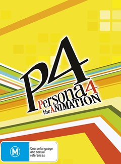 Persona 4: The Animation Volume 3 W/ Limited Collector