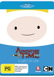 Adventure Time - The Complete First Season (Blu-Ray) - Film & TV Children & Family
