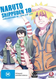 Naruto Shippuden Collection 18 (Eps 219-231) - Film & TV Animated