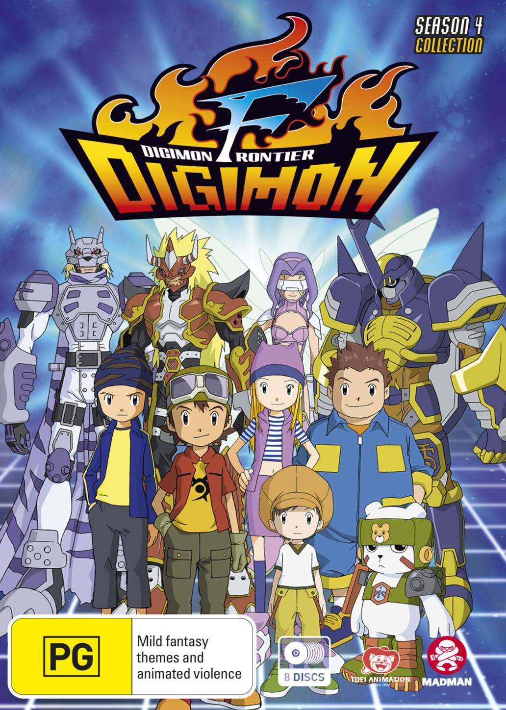 Digimon Frontier (Season 4) Complete Series