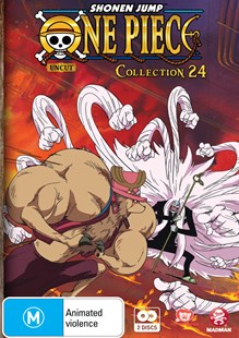One Piece (Uncut) Collection 24 (S5 Eps 288-299) - Film & TV Animated