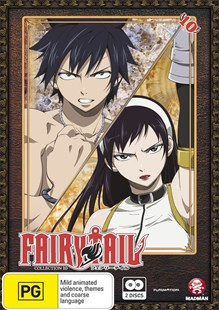 Fairy Tail Collection 10 (Eps 109-120) - Film & TV Animated