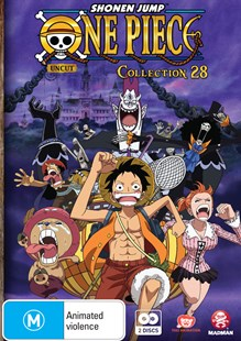 One Piece (Uncut) Collection 28 (Eps 337-348) - Film & TV Animated