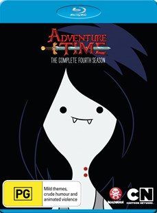Adventure Time - The Complete Fourth Season (Blu-Ray) - Film & TV Children & Family