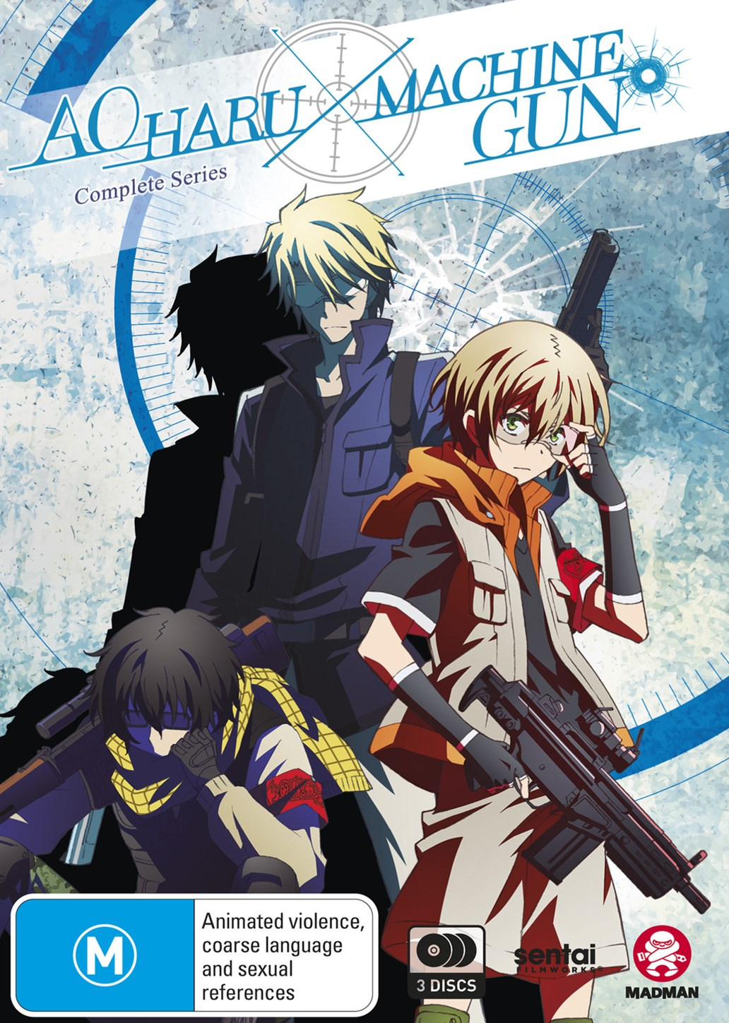 Aoharu X Machinegun: Complete Series