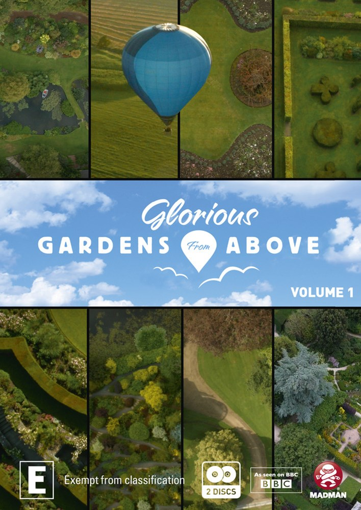 Glorious Gardens from Above: Volume 1 - Cornwall to North Wales