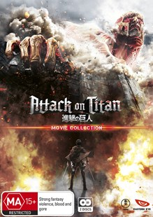 Attack on Titan Movie Collection (Limited Edition) - Film & TV Action & Adventure