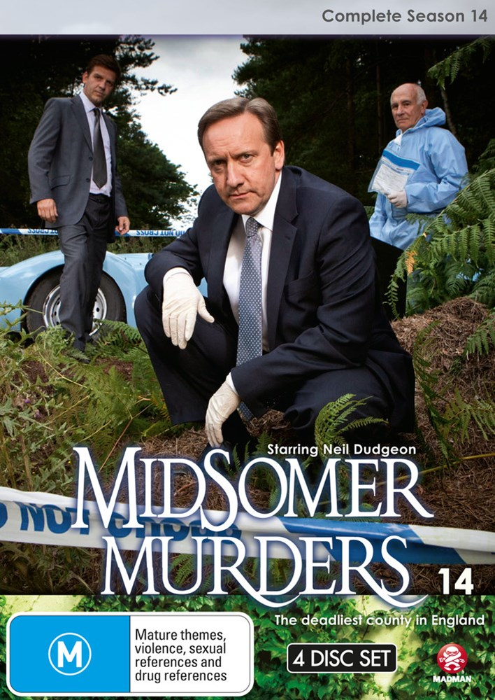 Midsomer Murders: Complete Season 14 (Single Case Version)