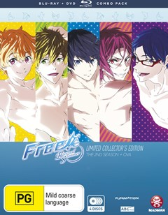 Free!: Eternal Summer - Season 2 + Ova (Blu-ray/DVD Combo) Limited Collector
