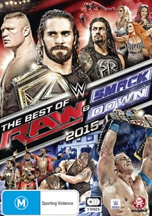 WWE: Best of Raw & Smackdown 2015 - Film & TV Sports & Recreation