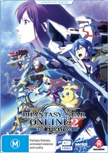 Phantasy Star Online 2 the Animation Complete Series (Subtitled Edition) - Film & TV Animated