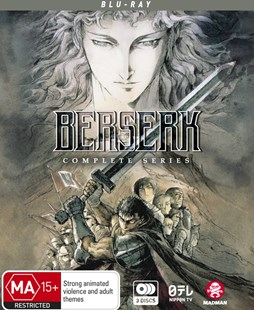 Berserk Complete Series (Blu-Ray) (Limited Edition) - Film & TV Action & Adventure