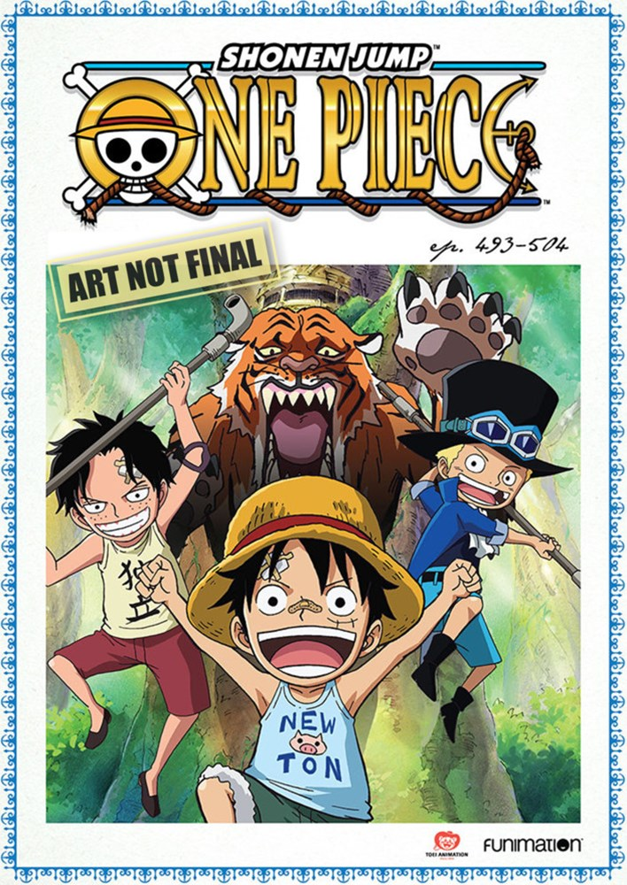 One Piece (Uncut) Collection 41 (Eps 493 - 504)