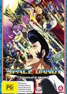 Space Dandy Complete Series (Blu-Ray) - Film & TV Animated
