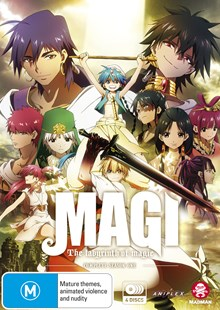 Magi: The Labyrinth of Magic Complete Season 1 - Film & TV Animated
