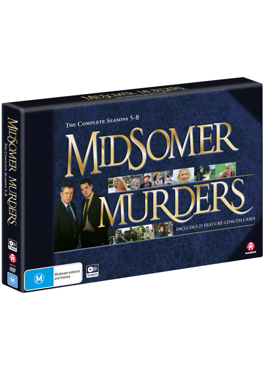 Midsomer Murders: Season 5 - 8 Collection (Limited Edition)