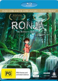 Ronja, the Robber's Daughter (Blu-Ray) - Film & TV Animated
