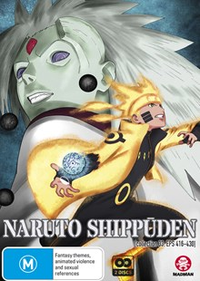 Naruto Shippuden Collection 33 (Eps 416-430) - Film & TV Animated