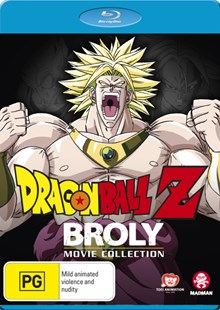 Dragon Ball Z: Broly Movie Collection - Film & TV Animated