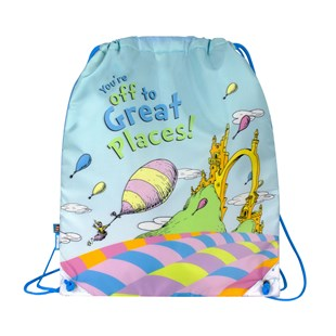 Drawstring Bag Oh The Place Emotive - Bags & Carry Backpacks