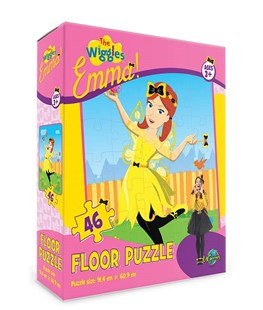Wiggles Emma 46pc Floor Puzzle - Children's Toys & Games Games & Puzzles