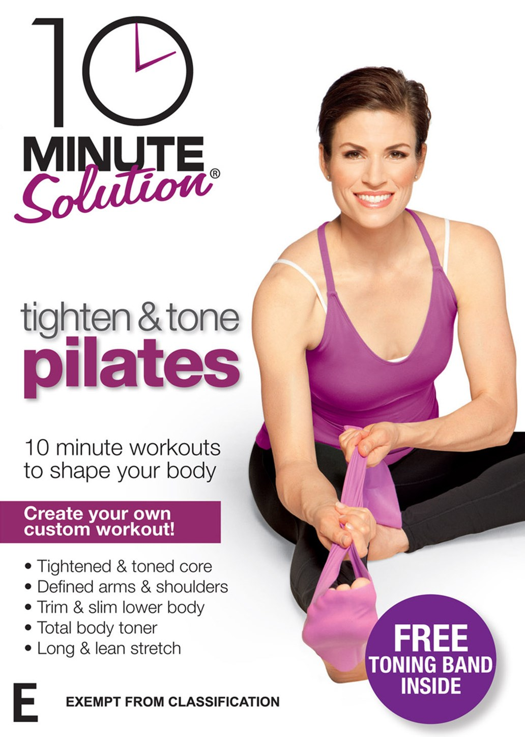 10 Minute Solution: Tighten and Tone Pilates with band