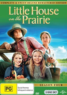 Little House on the Prairie Season 4 Digitally Remastered Edition - Film & TV Drama