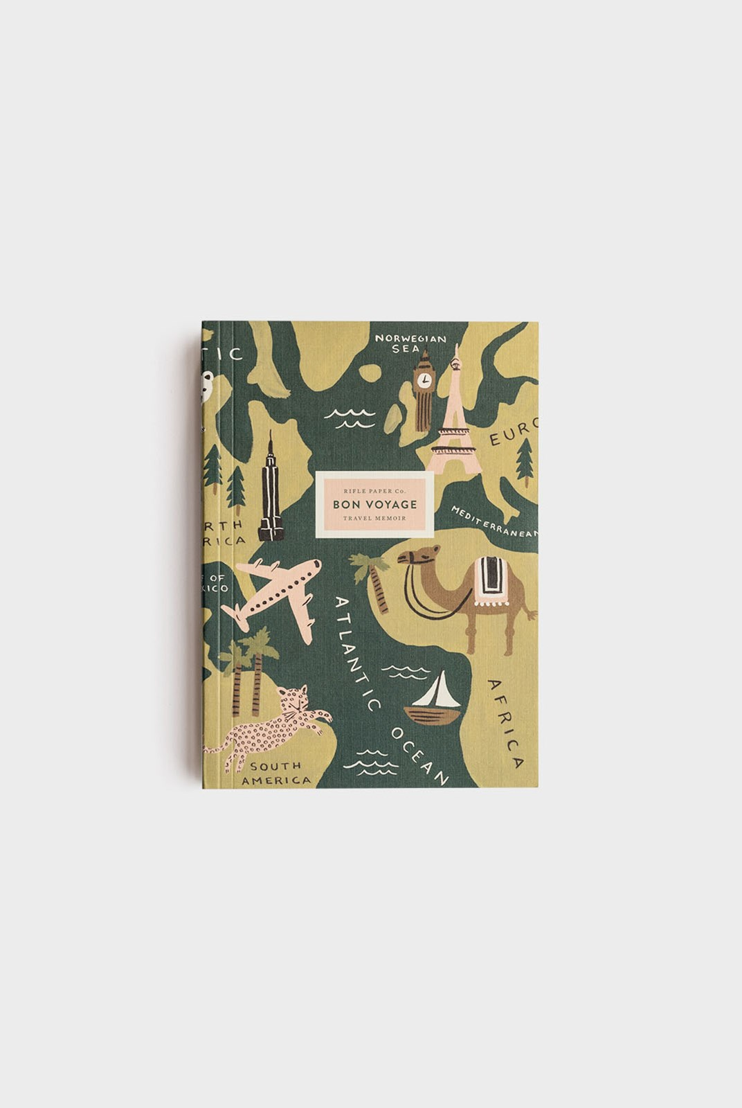 Rifle Paper Co - Journal - Plain + Ruled - Medium - Bon Voyage