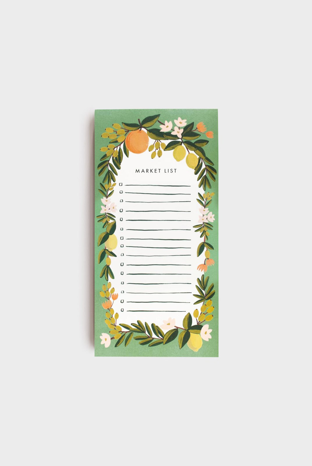 Rifle Paper Co - Shopping Pad - Citrus Floral